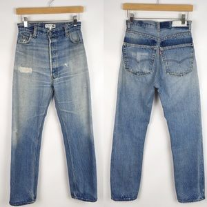RE/DONE x Levi's | ultra high rise jeans 0486